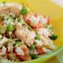 Delicioso y nutritivo Arroz con atún y vegetales