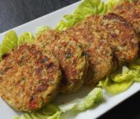 Sabrosas y nutritivas hamburguesas de verduras