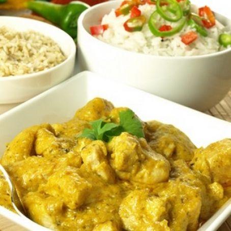 como se prepara el curry de pollo